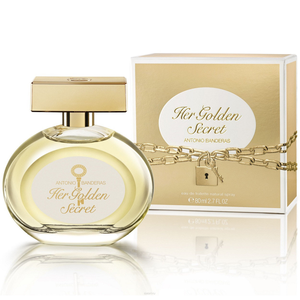 Туалетная вода Her Golden Secret от Antonio Banderas